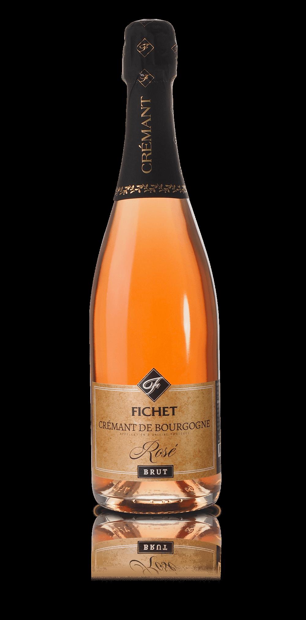 Cremant de Bourgogne Brut Rosé du Domaine FICHET