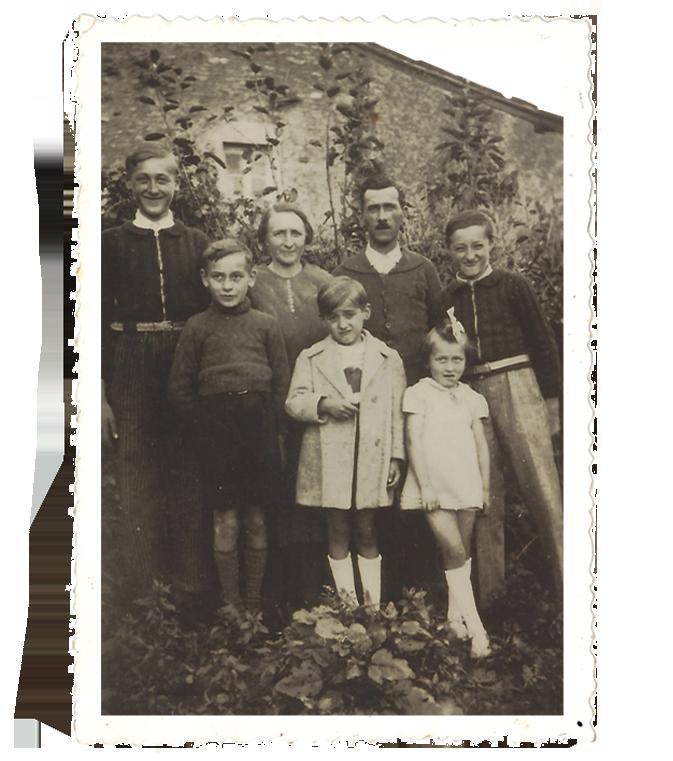 Famille FICHET en 1946