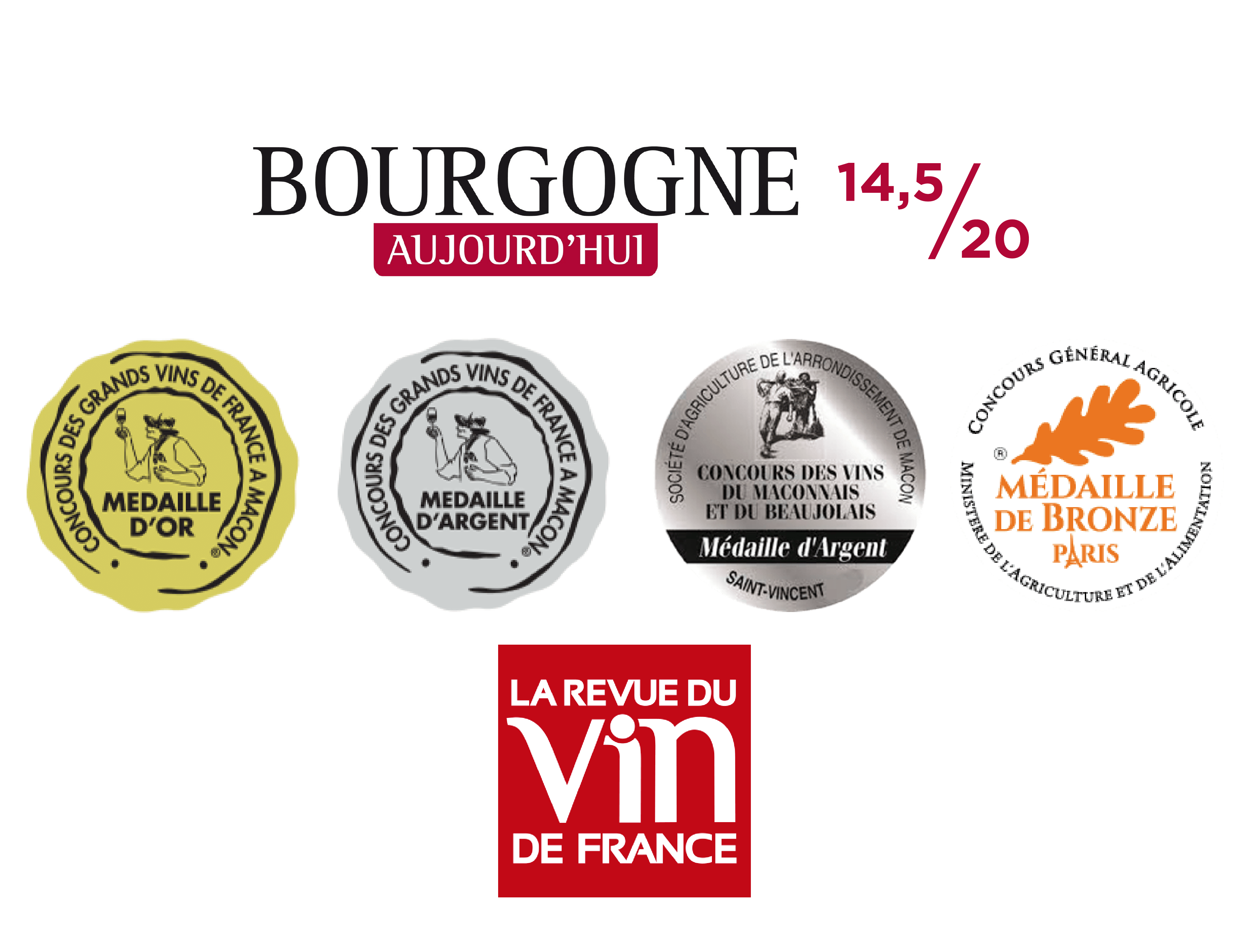 medailles concours 3 terroirs
