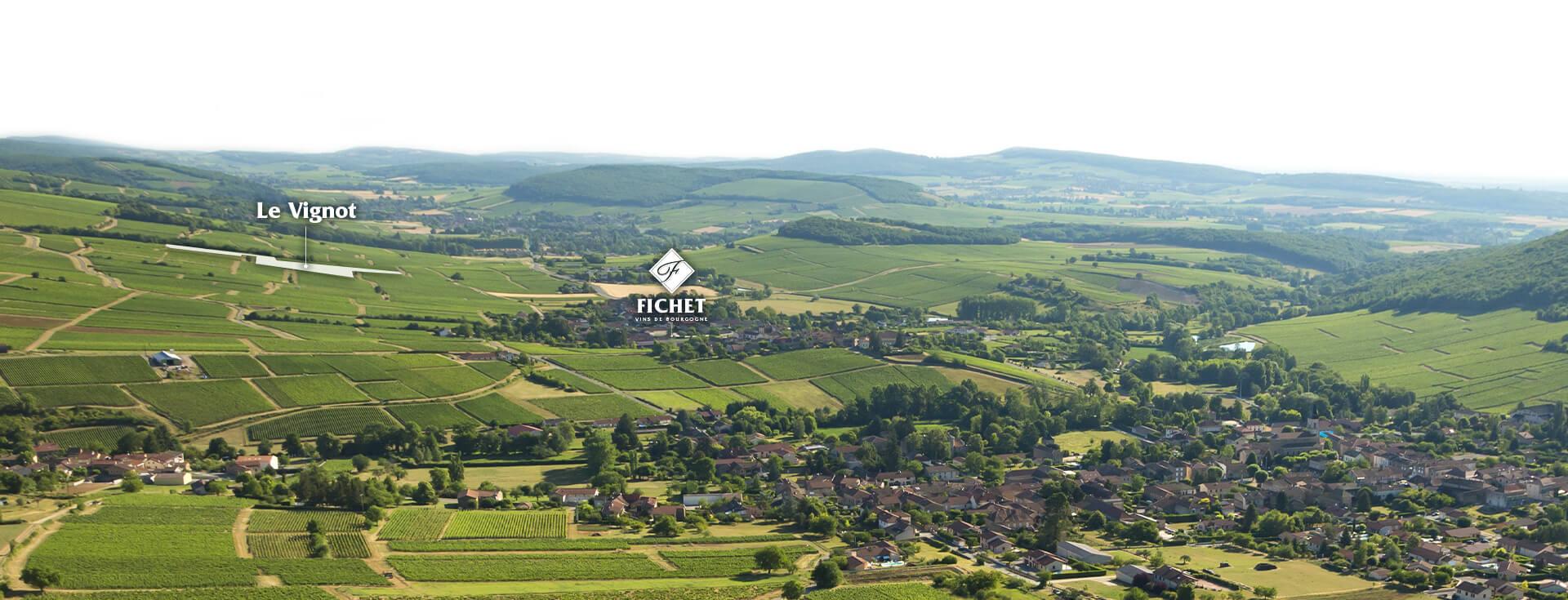 parcelle Le Vignot du Domaine FICHET