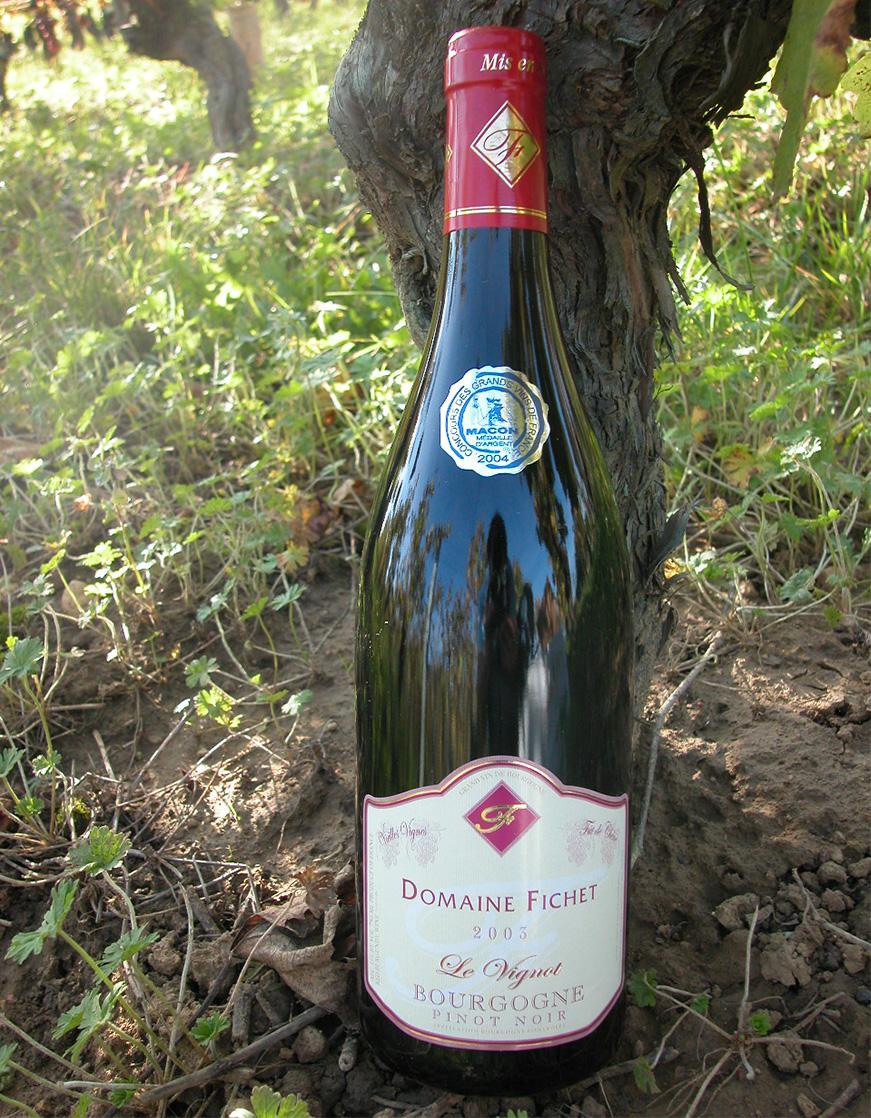 1992 création de la cuvée vignot