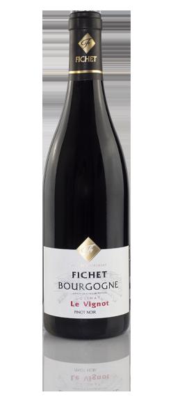 DOMAINE FICHET Bourgogne Le vignot Pinot noir