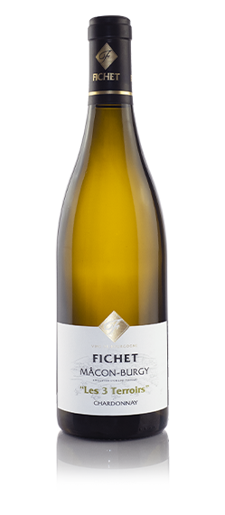 DOMAINE FICHET Macon-burgy Les 3 terroirs Chardonnay