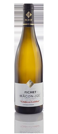 DOMAINE FICHET Macon-Igé Chateau-london Chardonnay