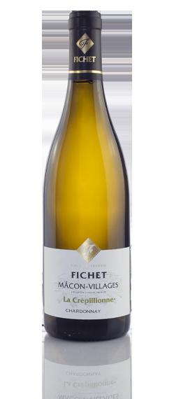 FICHET Mâcon-villages La Crepillionne Chardonnay
