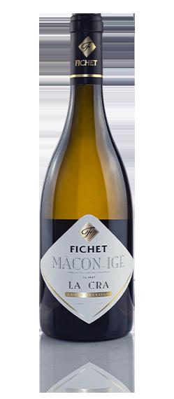 FICHET La Cra Cuvée préstige Macon-Igé Chardonnay