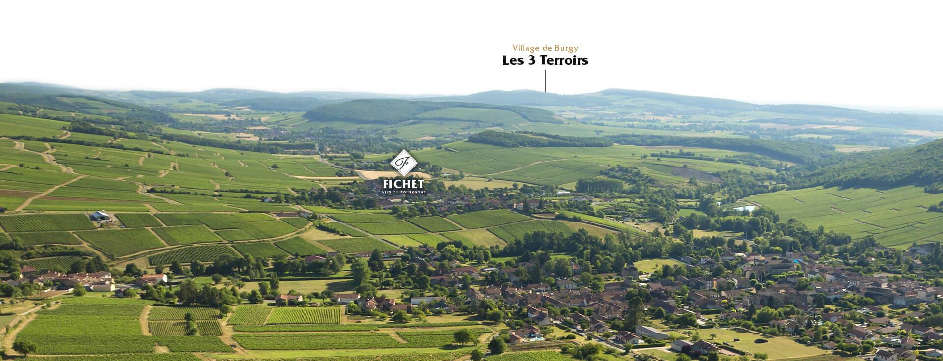 parcelle Les 3 Terroirs - Domaine FICHET